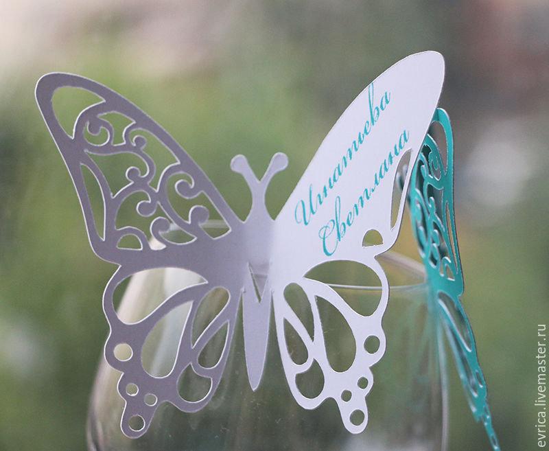 Открытки виде бабочки, поздравление