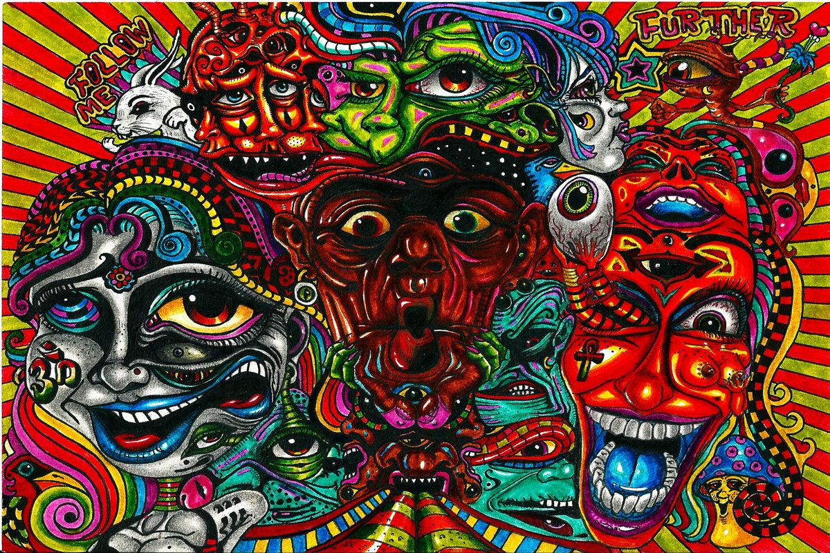 что может быть от картинок психоделики мне рвануть
