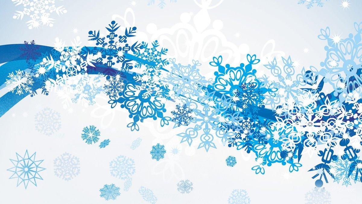 Открытка зимние узоры