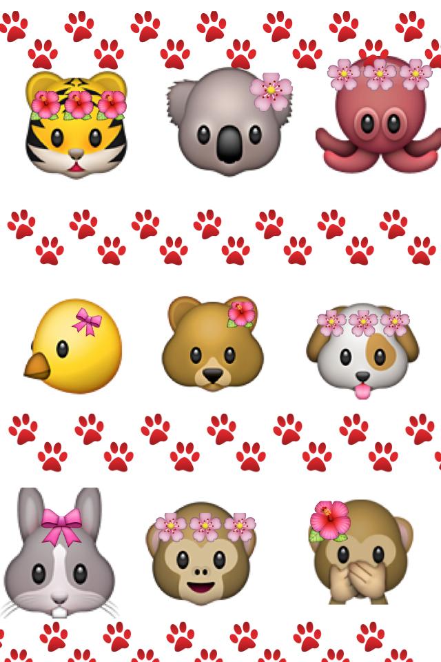 Картинки смайликов с животными