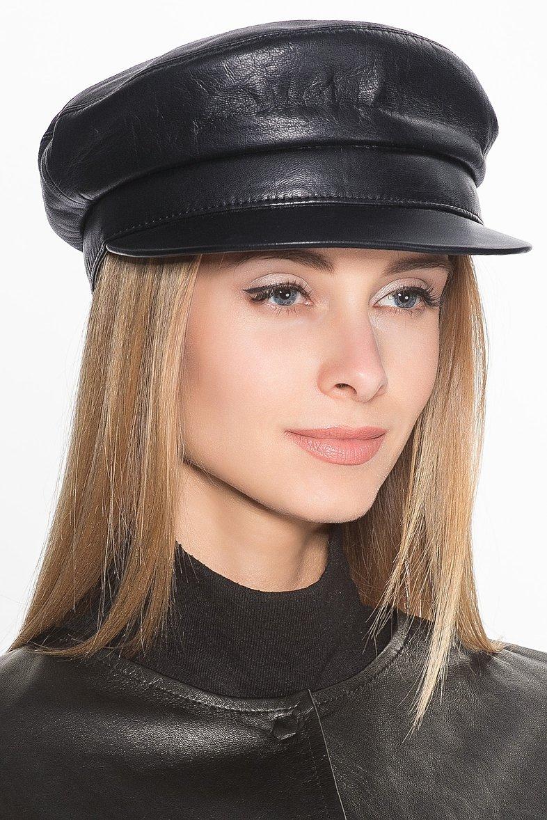 купить кожаную кепку женскую