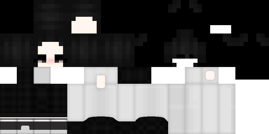 темные скины для майнкрафт #5