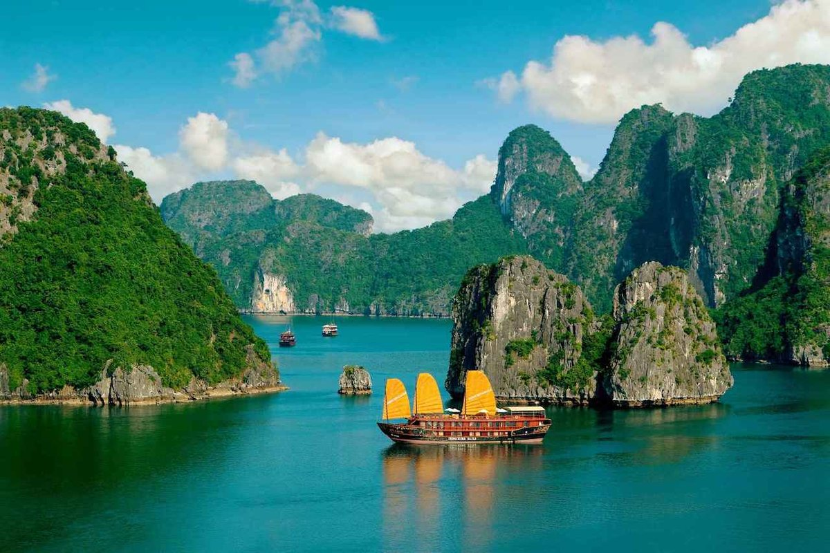 Днем, картинки из вьетнама