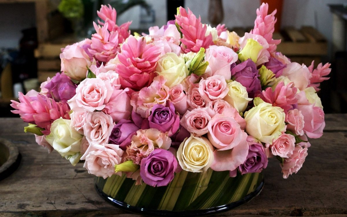 Цветов, красивейший букет фото