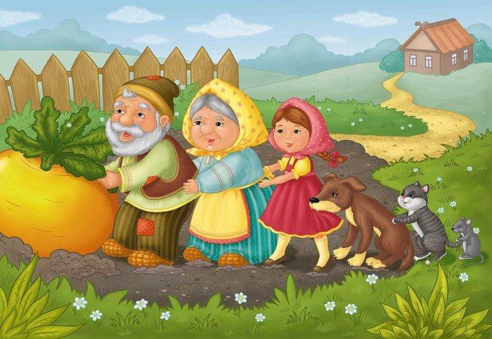 сказочная страничка в картинках ребенка выдающихся