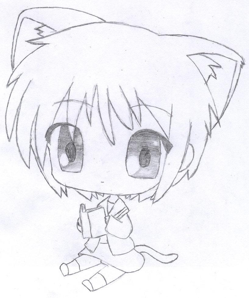Срисовать аниме картинки карандашом легко
