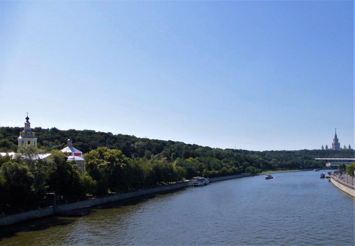 ксенофонтова воробьевы горы москва река фото снимке