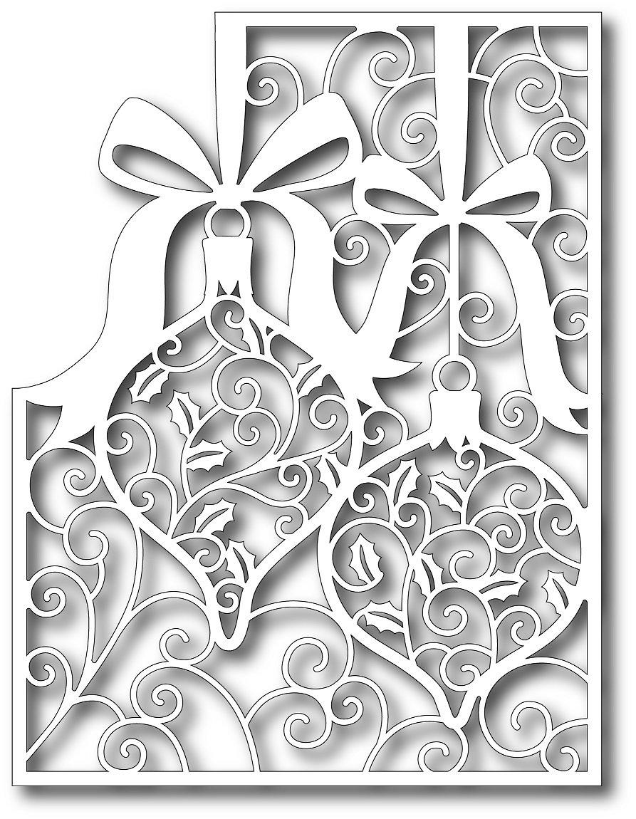 Использованием, вырезалка новогодние открытки