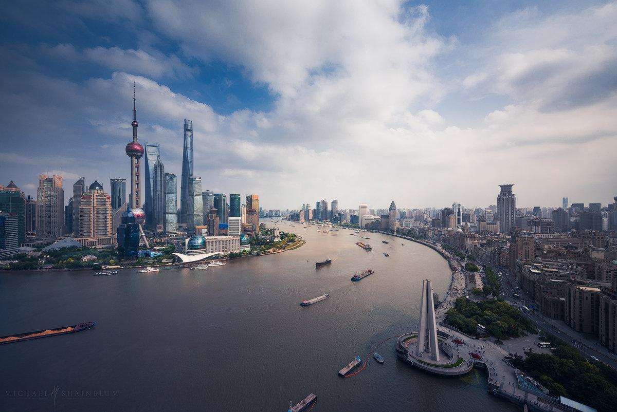 город шанхай картинки побережье изобилии