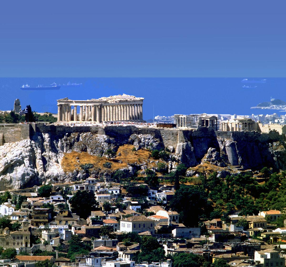 греческий город картинки