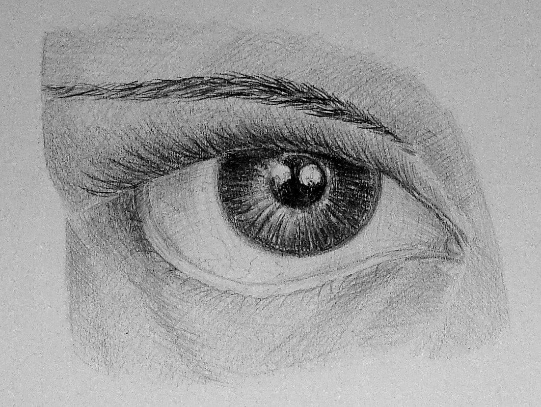 картинки карандашом как нарисовать глаза постройки самодельного минитрактора