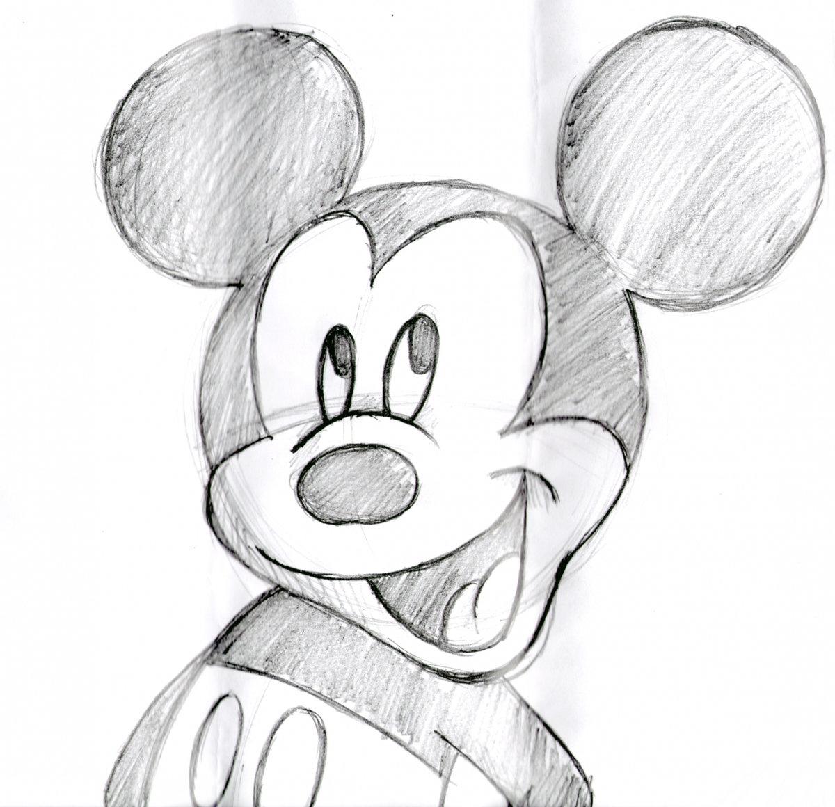 Прикольные рисунки для начинающих простым карандашом