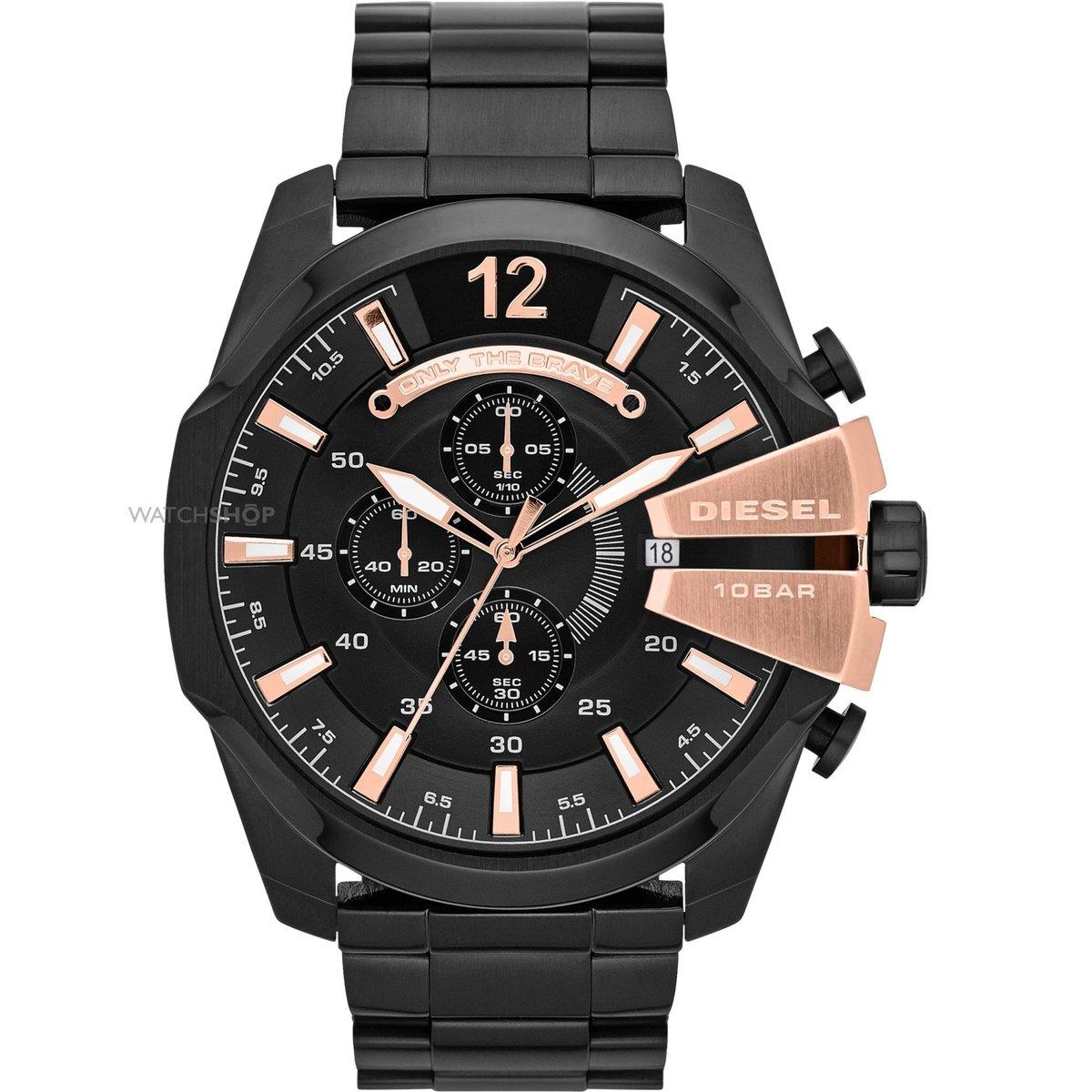 Копия часов diesel — timeframes — dz выполнена в привлекательной гамме, дополняет стиль часов кожаный ремешок с классической застежкой.