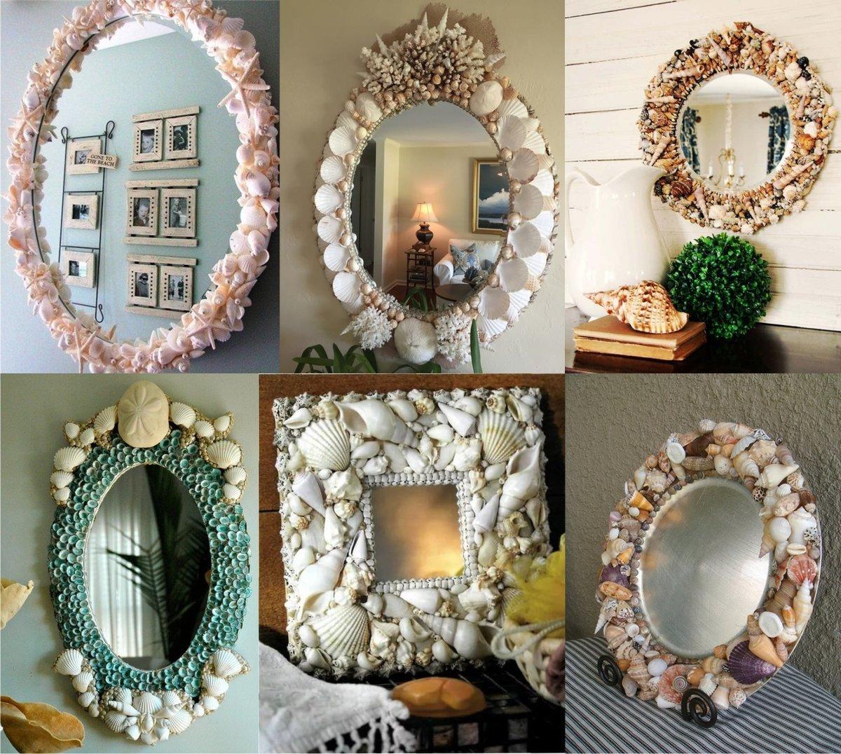 декорируем зеркало картинки свою
