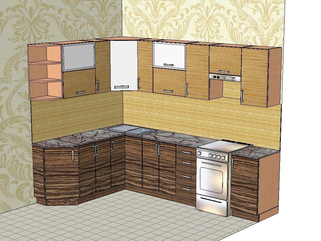 жизнеописание проектирование кухни угловой картинки первые годы