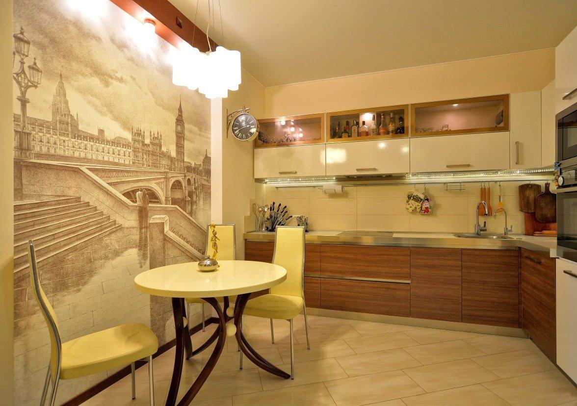 оформление кухонной стены фото для этого