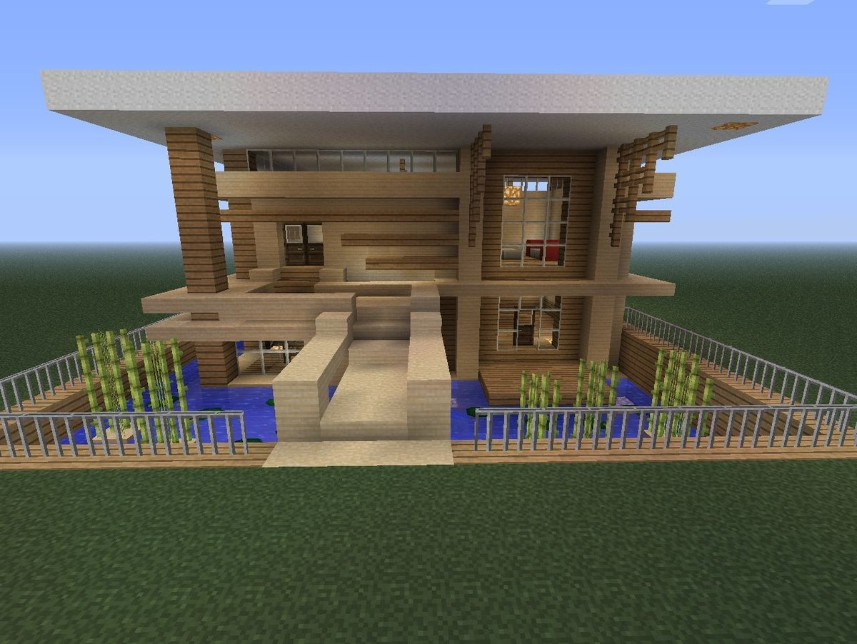 построение дома в майнкрафт по шагам рамка