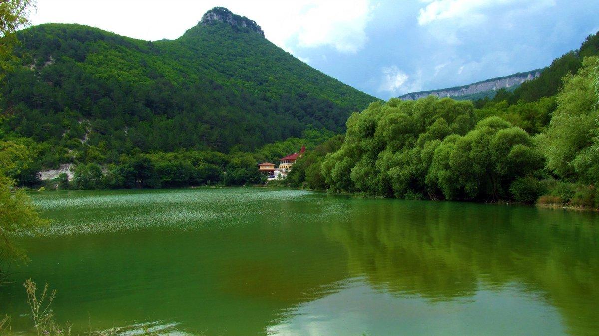 Озера крыма фото с описанием