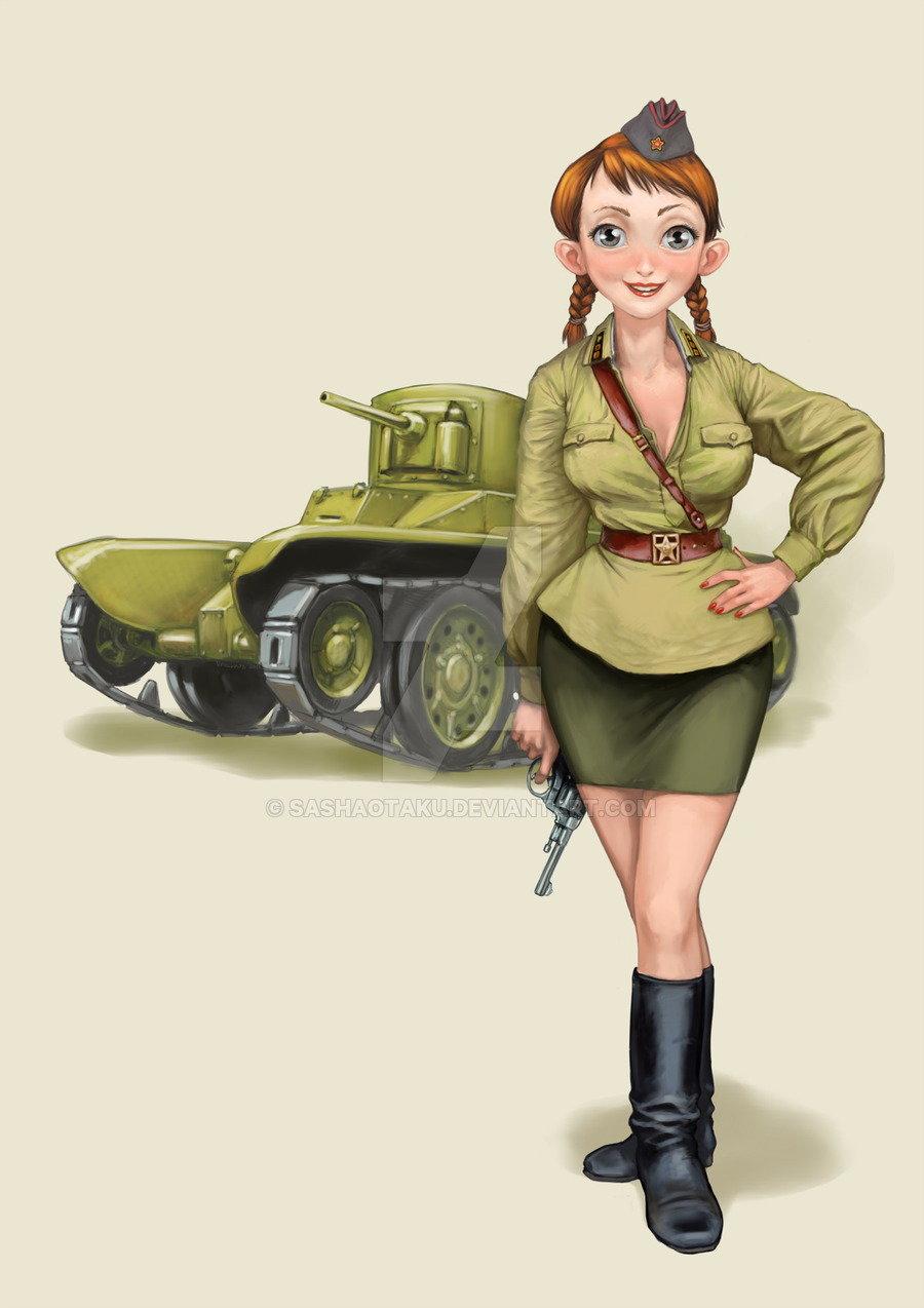 Открытка женщина на войне, разместить