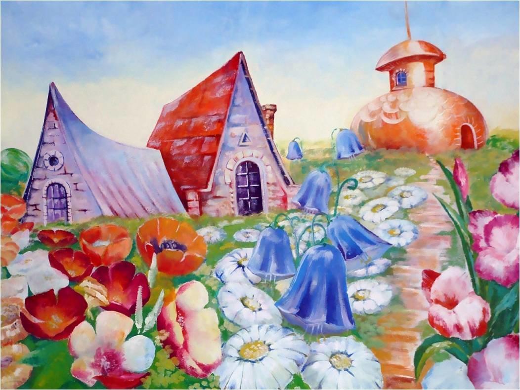 Картинки цветочного города