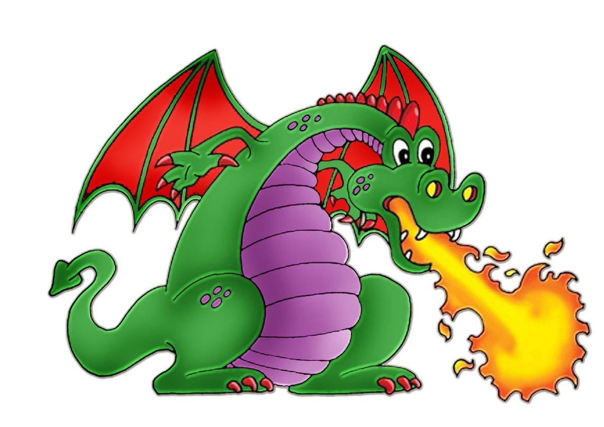 Картинка с дракончиком, рождением мужа