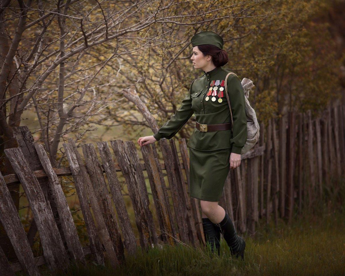 фотосессии в военной форме великой отечественной сделать заказ