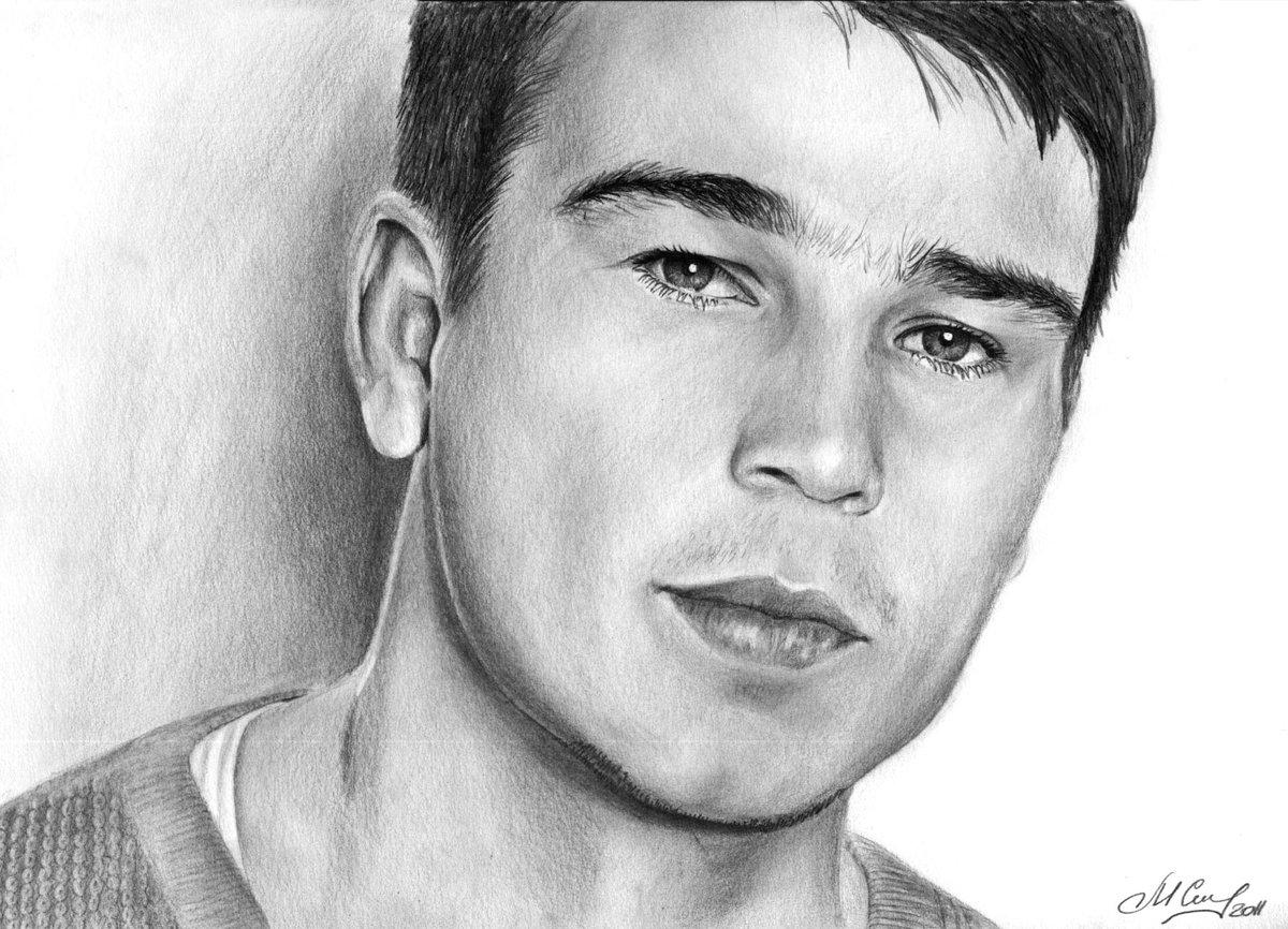 Картинки мужчины нарисованные карандашом