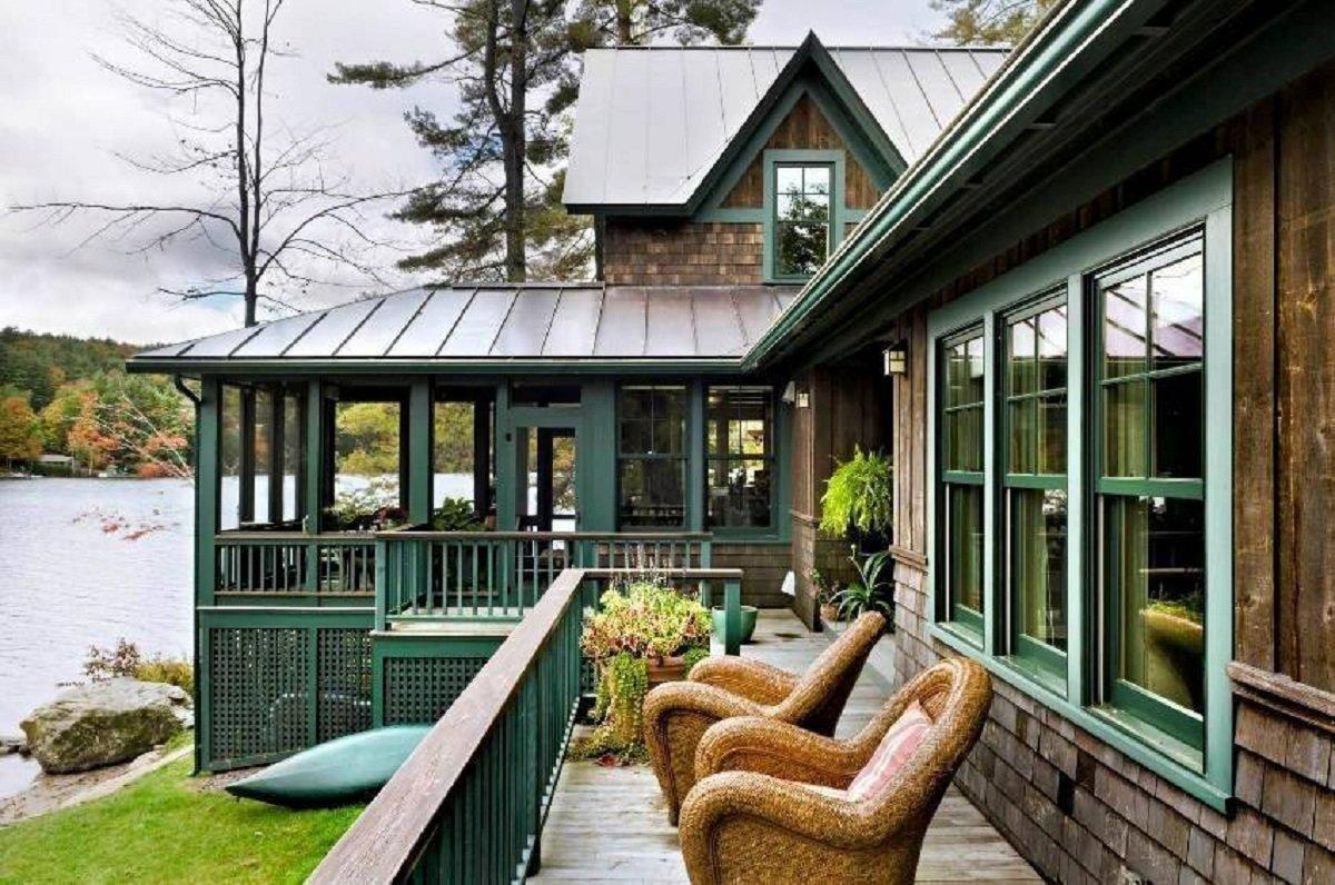это красивые дома с террасами фото заключалась