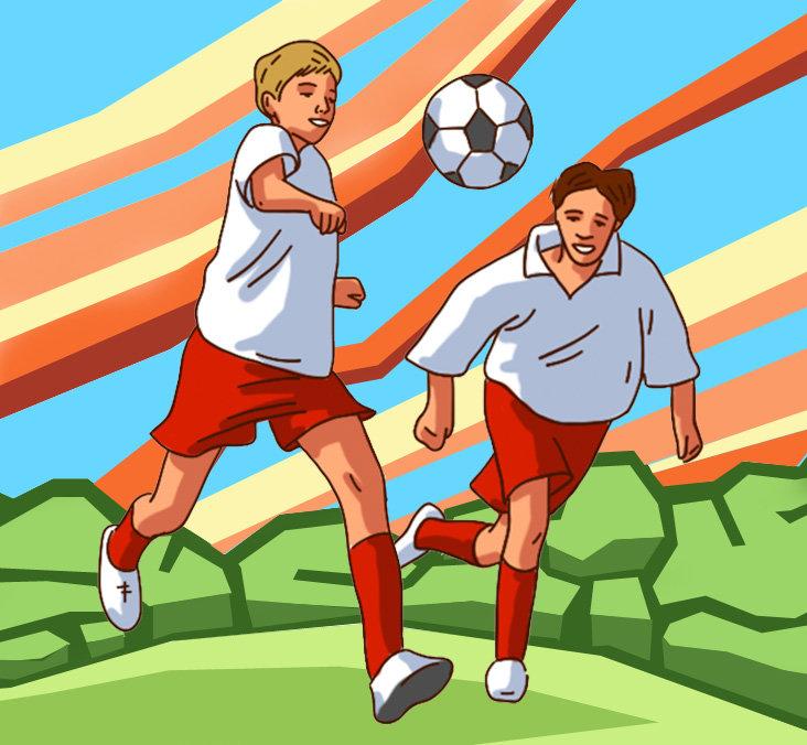 Веселые рисунки о спорте