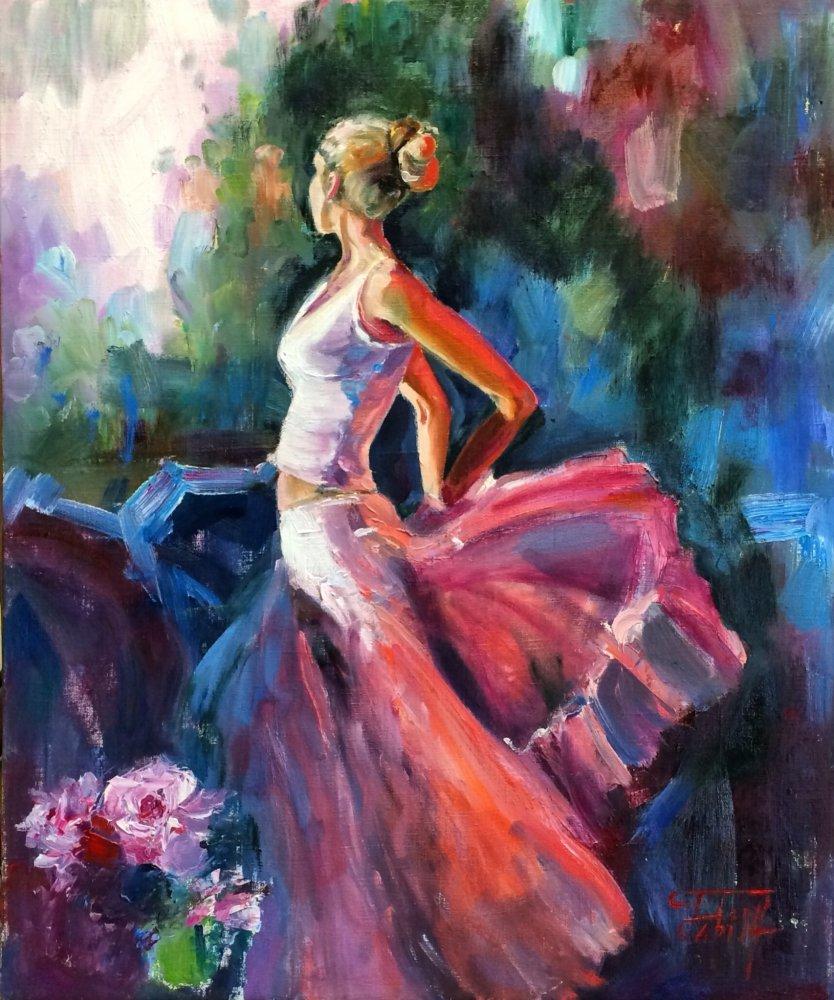 картинки художников танцы новом