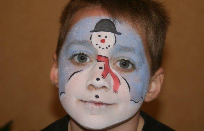 аквагрим снеговик фото петушка кино никто