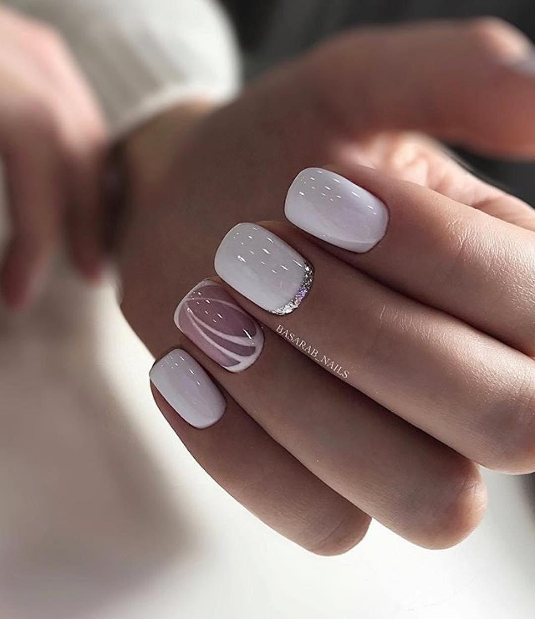 Стильный Шеллак На Короткие Ногти Фото