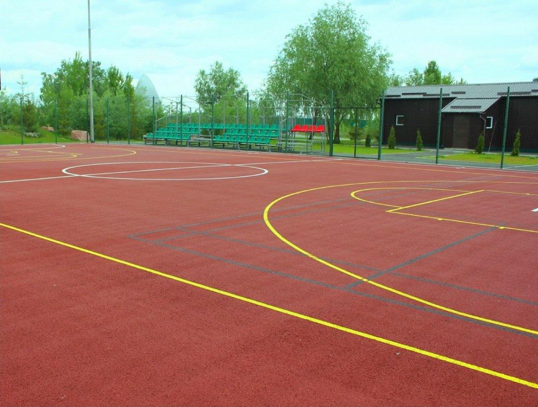 Картинки баскетбольные площадки, днем