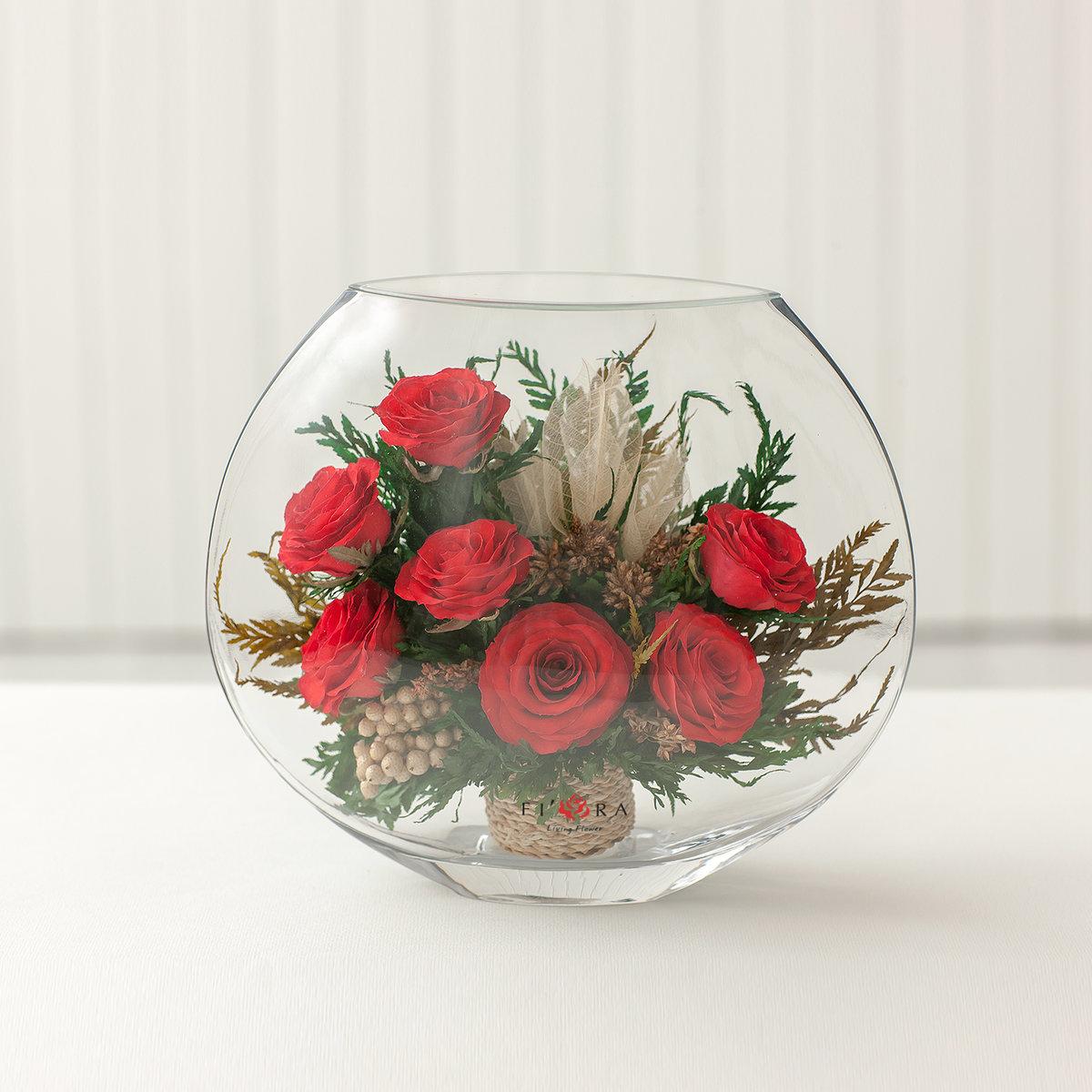 декор круглой вазы своими руками фото поднимается