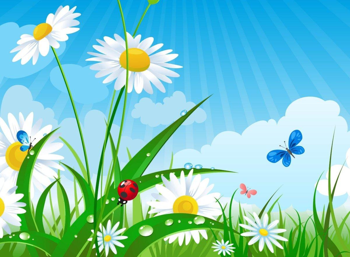 Лето солнце картинки для детей, три подружки