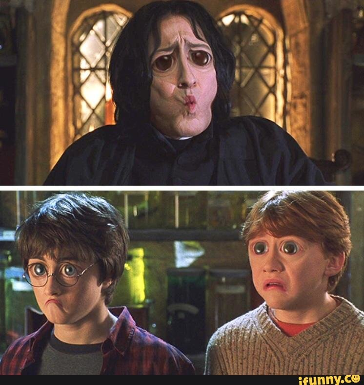 Гарри и рон картинки приколы, новым годом