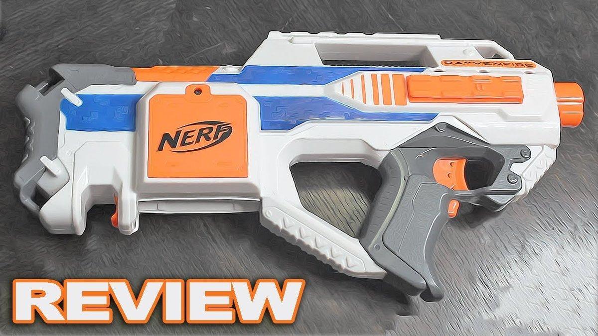 nerf rayvenfire review nerf elite rayven returns with new card