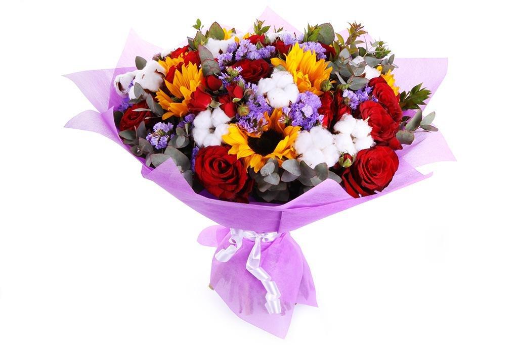 Букет, доставка цветов в кемерово недорого