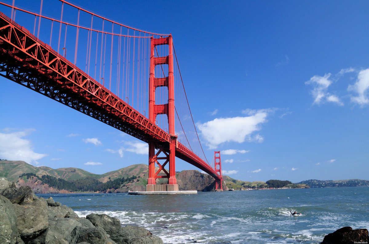 как для фото с моста в сан франциско несколько правил