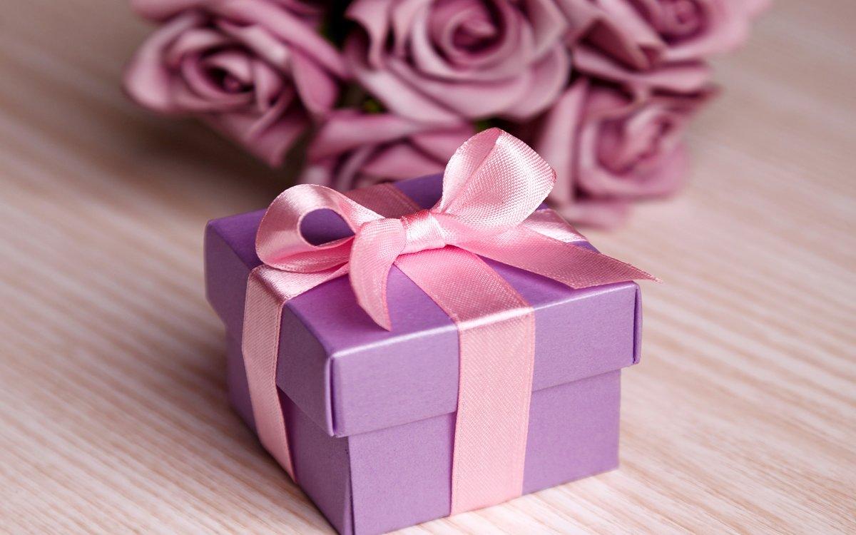 Картинка с подарками красивая