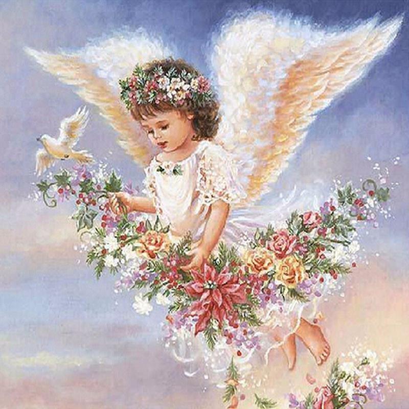 что, уверен, ангел с цветами красивые картинки визуальное восприятие