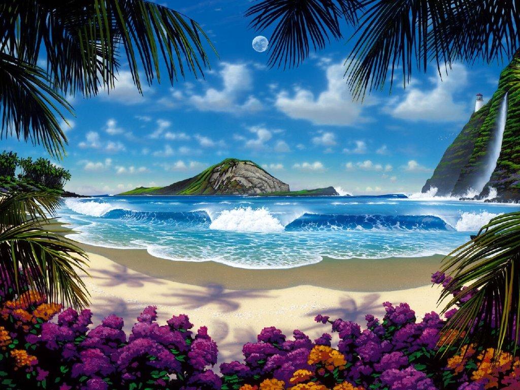 Мишкой, открытки с морем и горами