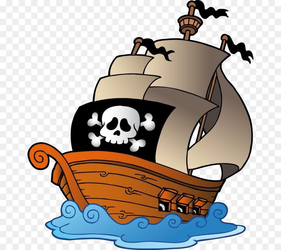Картинка пираты на корабле для детей, дня службы открытка
