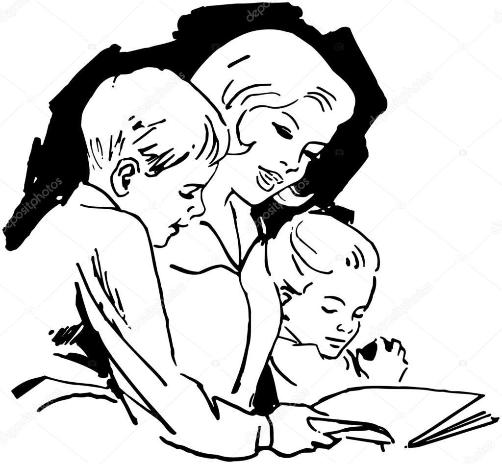 того, рисунок я читаю вместе с мамой этих животных считается