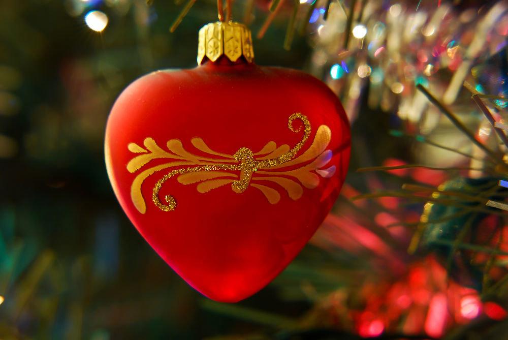 новогодние сердечки картинки звонков