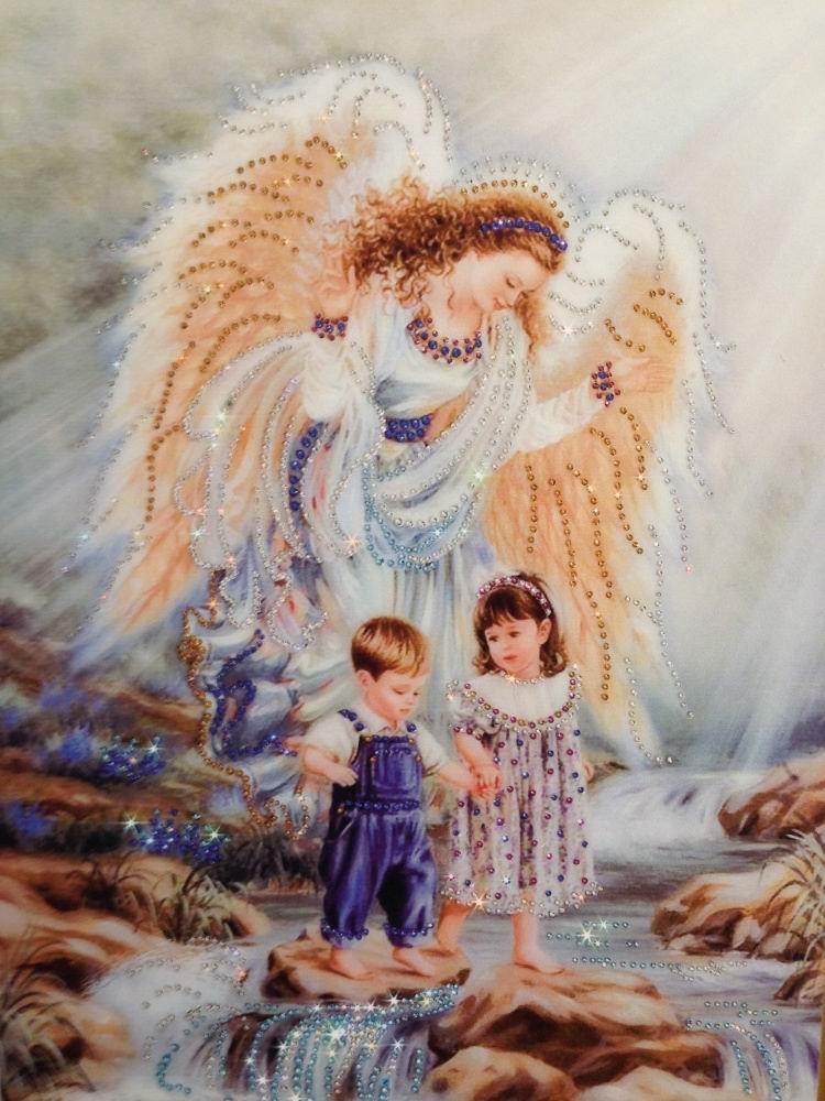 Открытки, картинки с изображением ангелов