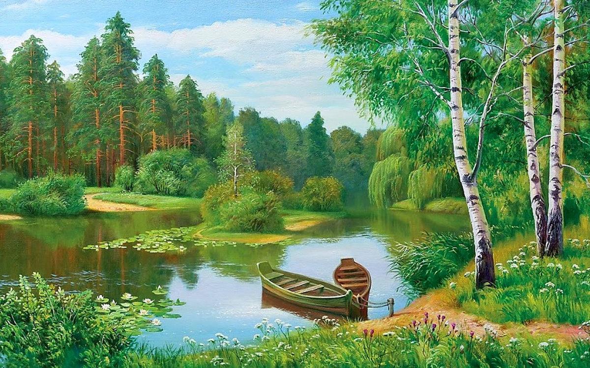 Приколов 2015, пейзаж в открытках