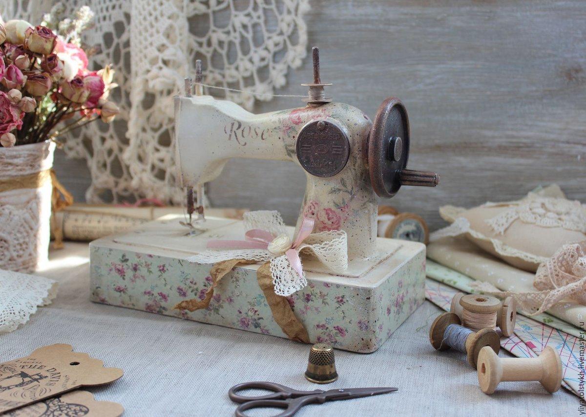 Картинки со швейными машинками, днем