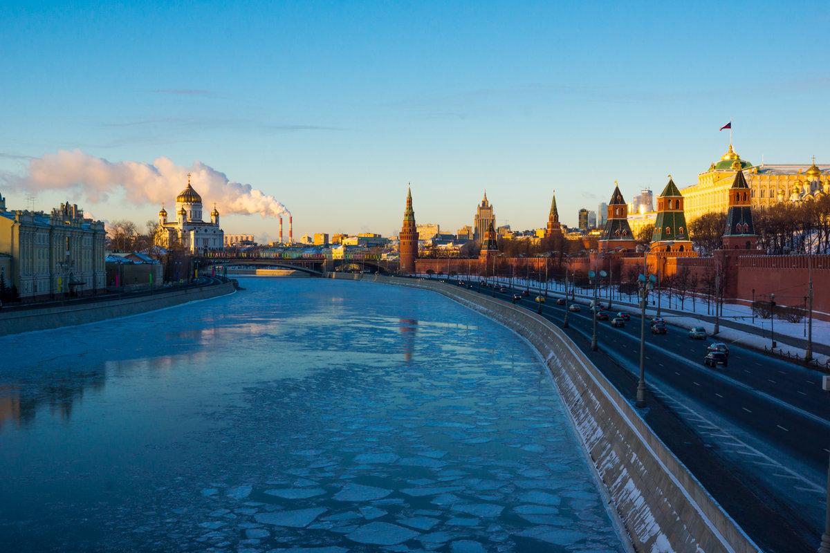Фото реки москвы