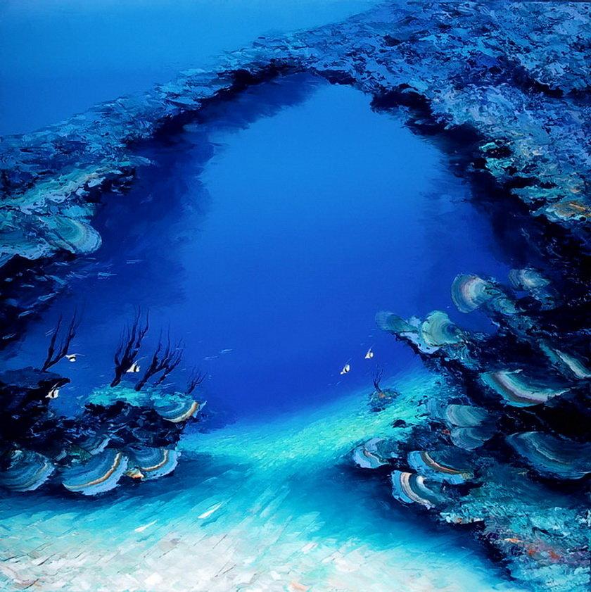 Фото моря глубины